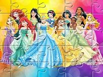 10 Puzzleuri cu Printese Disney