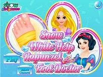 Alba ca Zapada Ingrieste Piciorul lui Rapunzel