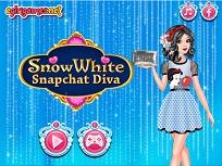 Alba ca Zapada pe Snapchat
