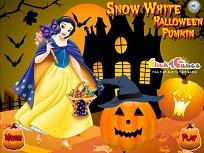 Alba ca Zapada si Dovleacul de Halloween