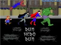 Alearga cu Supereroii
