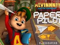 Alvin si Veveritele si Avioanele de Hartie
