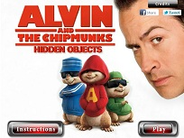 Alvin si Veveritele Obiecte Ascunse