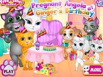 Angela Insarcinara la Ziua lui Ginger