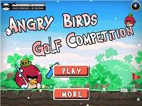 Angry Birds Concursul de Golf