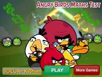 Angry Birds Test de Matematica