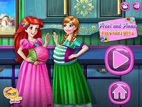 Anna si Ariel Insarcinate