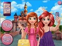 Anna si Ariel Selfie