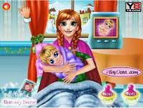 Anna si Bebelusul la Maternitate