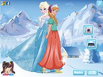 Ana si Elsa de Imbracat 2