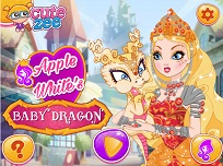 Apple White si Micul Dragon
