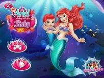 Ariel Joaca cu Bebelusul