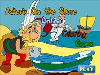 Asterix si Obelix de Colorat
