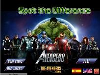 Avengers Gaseste Diferente