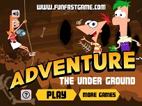 Phineas si Ferb Aventuri sub Pamant
