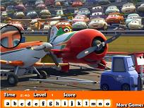 Avioane Disney Litere Ascunse