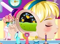 Bebelusa Elsa Operatie la ureche