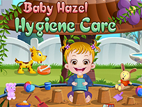Fetita Hazel Lectii de Igiena
