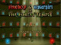 Baiatul de Foc si Fata de Apa in Templul din Padure