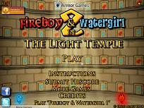 Baiatul de Foc si Fata de Apa Templul Luminii