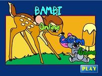 Bambi de Colorat