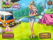 Barbie Camping cu Fetita