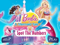 Barbie Sirena  Gaseste Literele