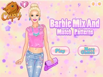 Barbie Tinuta Colorata