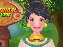 Barbie Machiaj Tribal