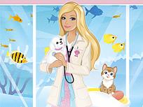 Barbie la Clinica Animalelor