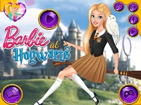 Barbie la Hogwarts