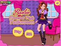 Barbie si Costumul Monster High de Halloween
