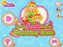 Barbie si Fiica Ei Rochii Asortate