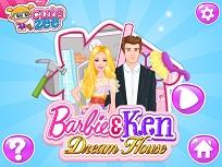 Barbie si Ken Casa de Vis