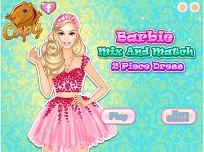 Barbie si Rochita din 2 Piese