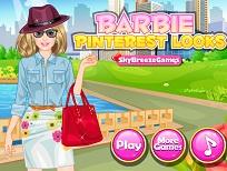 Barbie si Tinuta de pe Pinterest