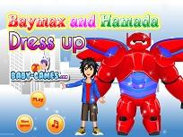Baymax si Hiro Hamada de Imbracat
