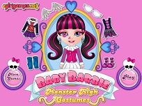 Bebelusa Barbie Costume Monster High