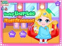 Bebelusa Barbie si Coafura Noua
