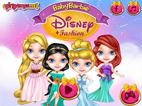 Micuta Barbie si Moda Disney