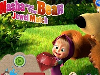 Bejeweled cu Masha si Ursul