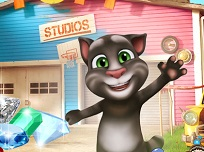 Bejeweled cu Talking Tom