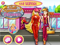 Belle si Rapunzel Mecanici