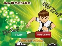 Ben 10 si Matematica