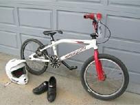 Bicicleta BMX Puzzle