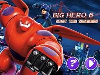 Big Hero 6 si Numerele Ascunse