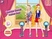 Blondele Faimoase si Concursul de Moda