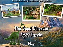 Bunul Dinozaur Puzzle Rotativ