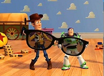Buzz si Woody Puzzle