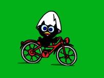 Calimero si Cursa cu Bicicleta